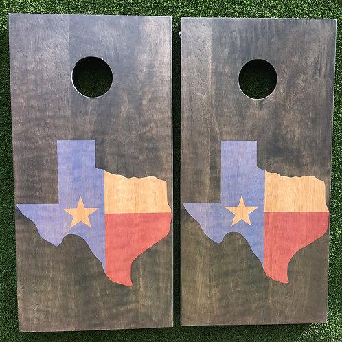 Cornhole Game-State of Texas