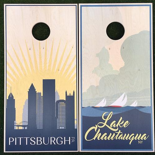 Cornhole Game-Pittsburgh and Lake Chautauqua