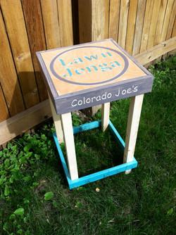 Jenga Tables are Customizable