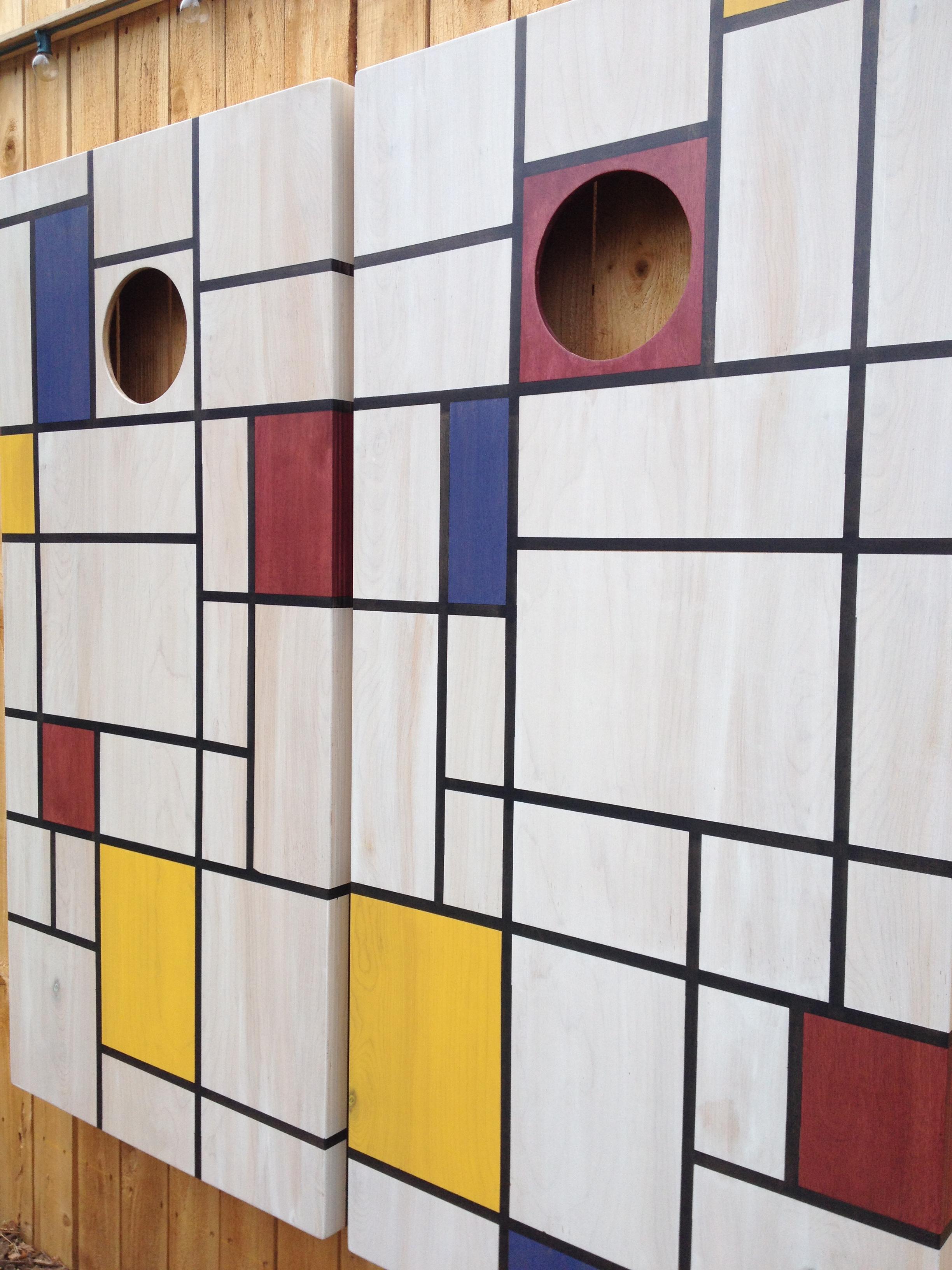 Mondrian Game