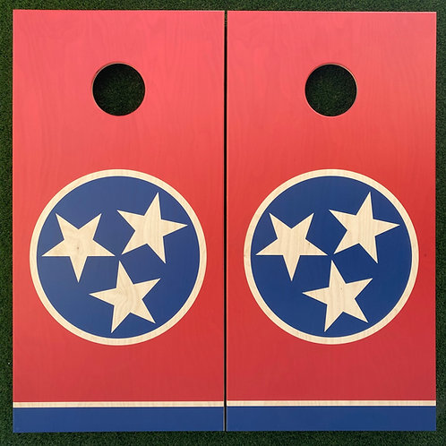 Cornhole Game-Tennessee Flag