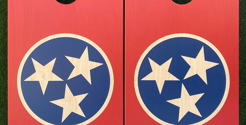 Cornhole Game-Tennessee Flag