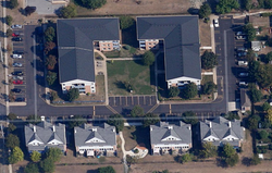Country Lane Co-op from the air