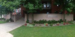Emmaus Place entry garden