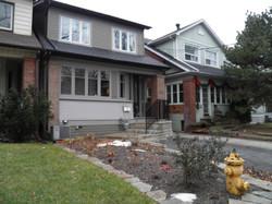 Renovation to a Toronto house