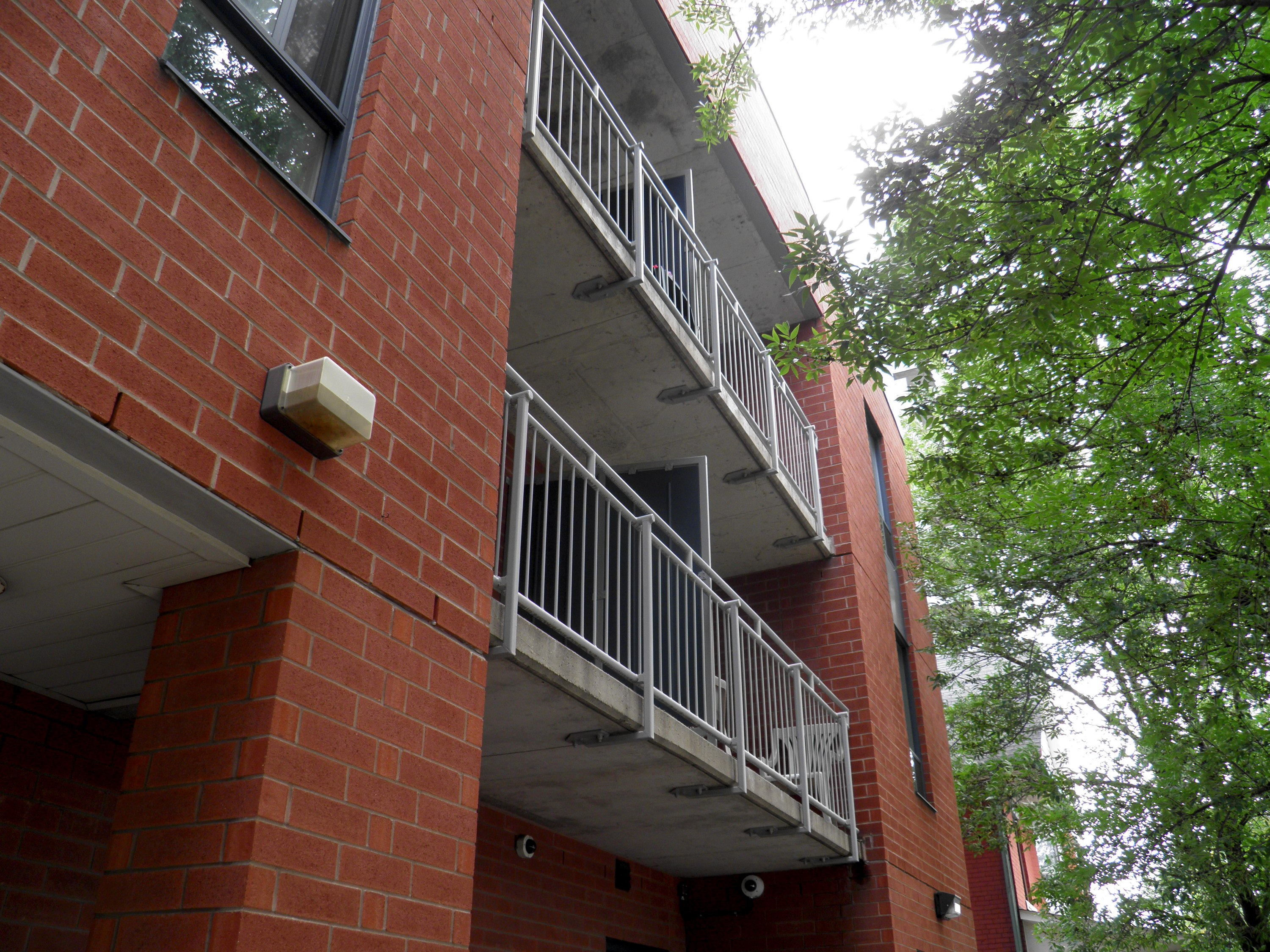 Emmaus Place, front wing