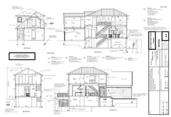 New Toronto House, Section