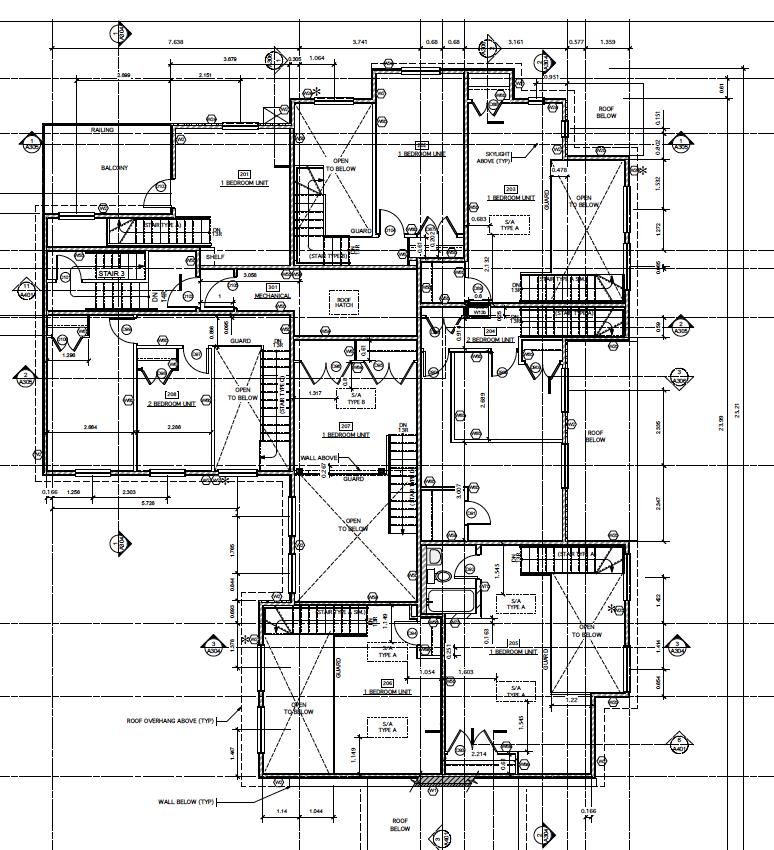 Monaco Place Mezzanine Plan