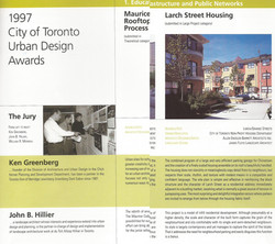 Urban Design Awards Larch Street