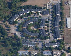 Meadowgreen Cooperative from the air