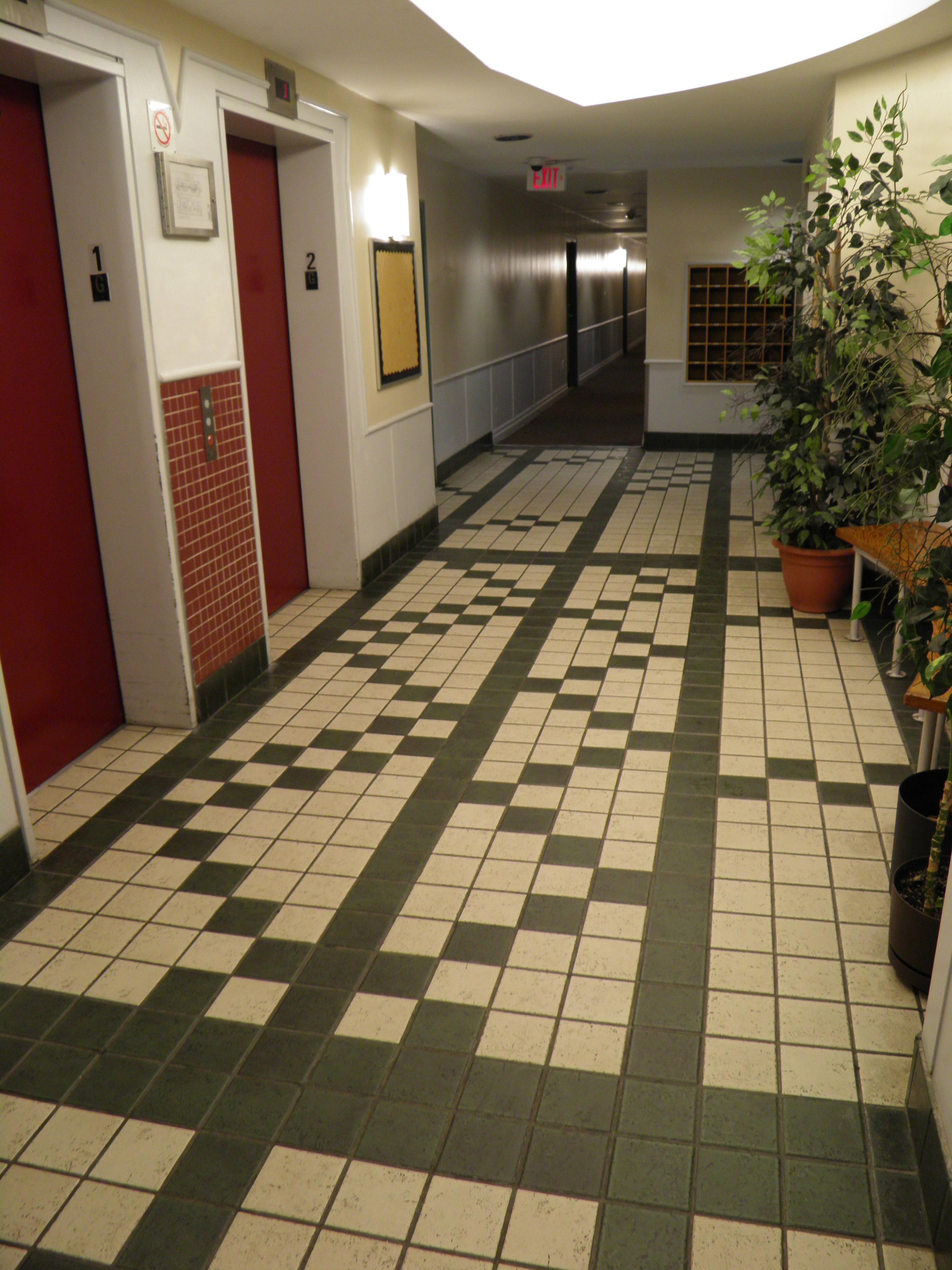 Main Lobby tiles