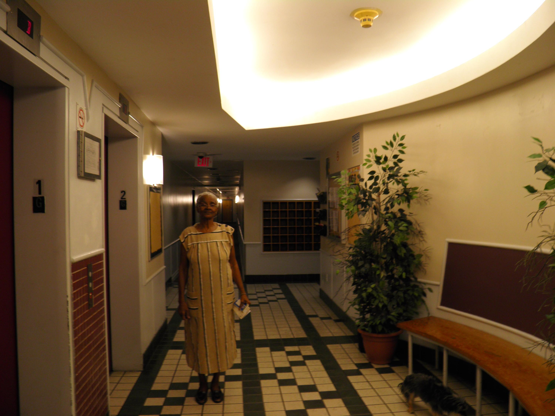 Ujamaa elevator lobby