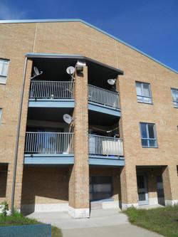 Watermark balconies