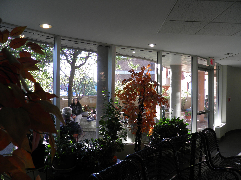 Emmaus lobby