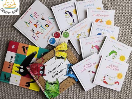 Livres qui parlent des émotions