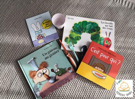 Livres qui parlent des repas