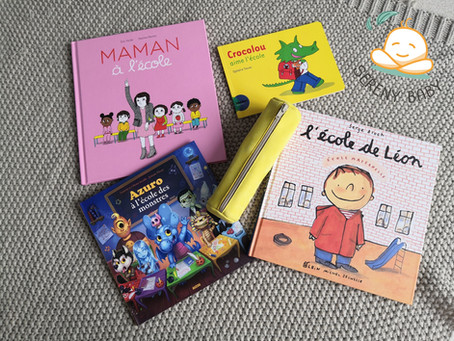 Livres qui parlent de l'entrée à l'école