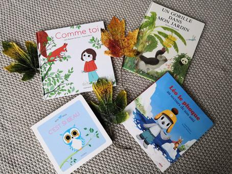 Livres qui parlent de la nature, des animaux