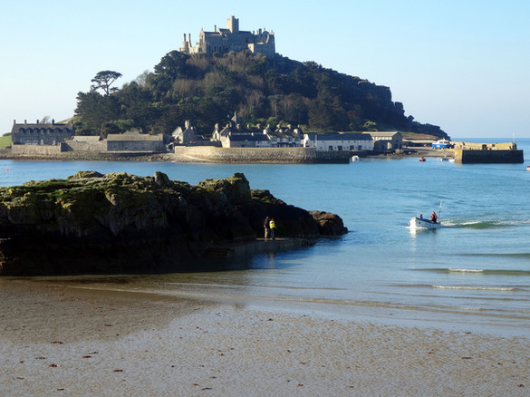 St Michaels Mount in Penzance