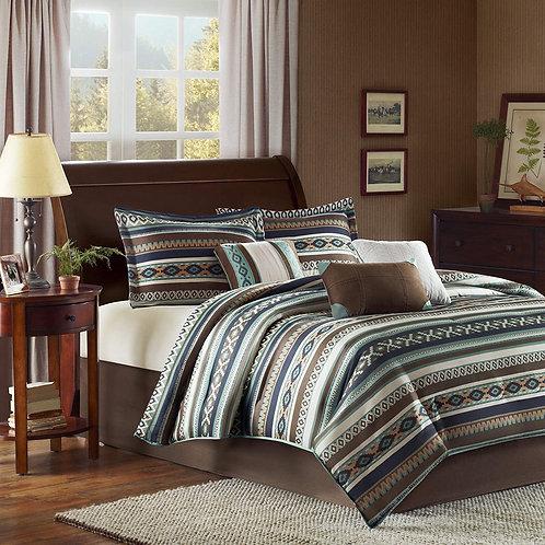 Madison Park Cozy Comforter Set-Rustic Southwestern Style All Season