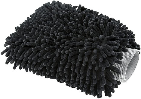 Chemical Guys MIC498 Black Microfiber Wash Mitt, 1 Pack