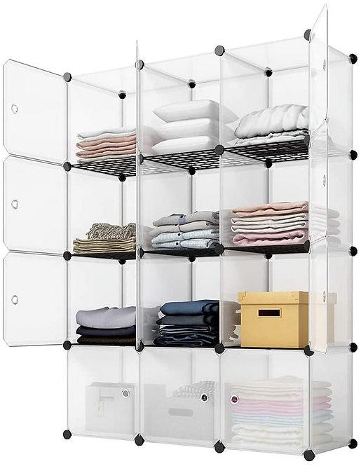 KOUSI Portable Storage Cubes-14 x14 Cube (12 Cubes)-More Stable.