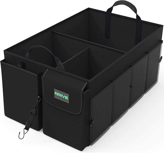 Drive Auto Trunk Organizers and Storage - Collapsible Multi-Compartment Car Orga