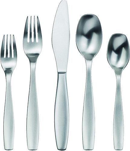 Gourmet Settings 20-Piece Silverware Non Stop Collection Flatware Set for 12, Se
