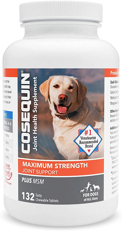Cosequin Maximum Strength Joint Supplement Plus MSM - with Glucosamine and Chond