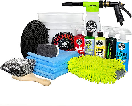 Chemical Guys HOL126 14-Piece Arsenal Builder Car Wash Kit with Foam Gun