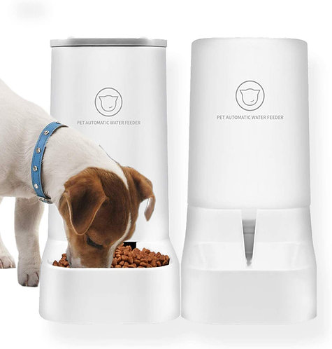 Pet Feeding & Watering Supplies Self Automatic Gravity Feeder Cat Dry Food