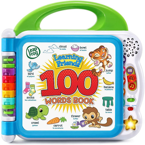 LeapFrog Learning Friends 100 Words Book (Frustration Free Packaging)