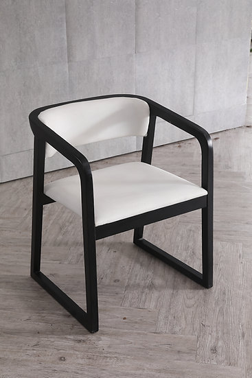 Monochrome Dining chair (set of 2)