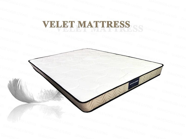 ELLIOT Soft Velour Plush Mattress