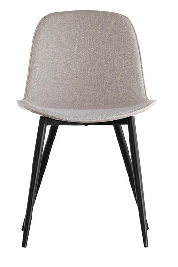 Frayn Grey Fabric Dining Chairs (Set of 4)