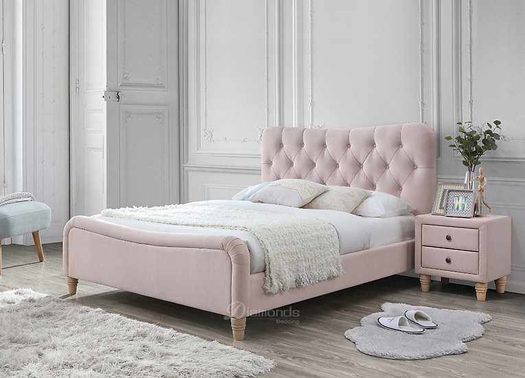 JAZMIN Royal Fabric Bed Frame