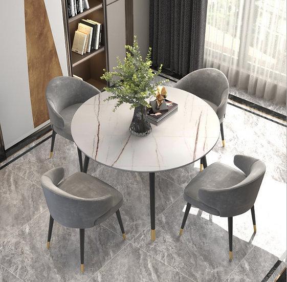 New style Eva Ceramic Round Dining table 100cm