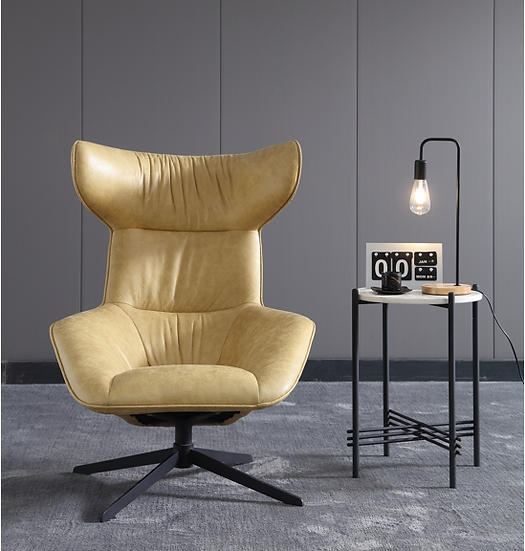 BACH Luxe leather Armchair