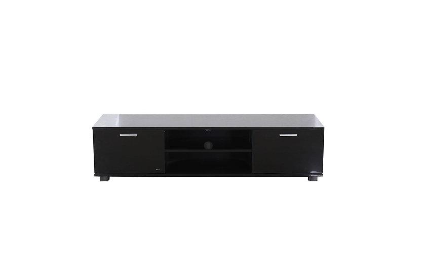 WAYNNE Black TV Unit (1.4m)