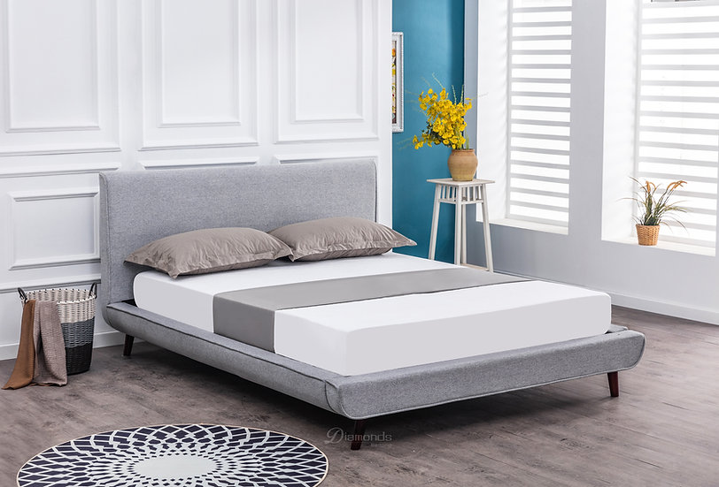 NORA Fabric Bed Frame Queen