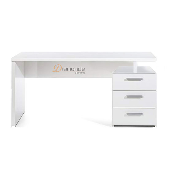DENNISE Study Desk with 3 drawers