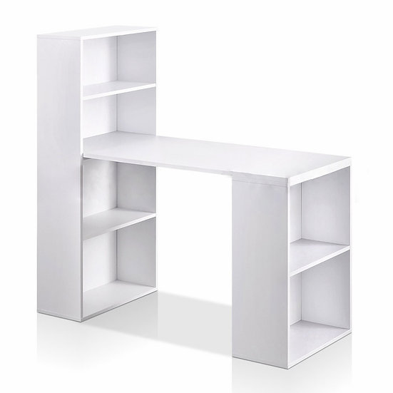 2 in 1 Study Table with Bookshelf