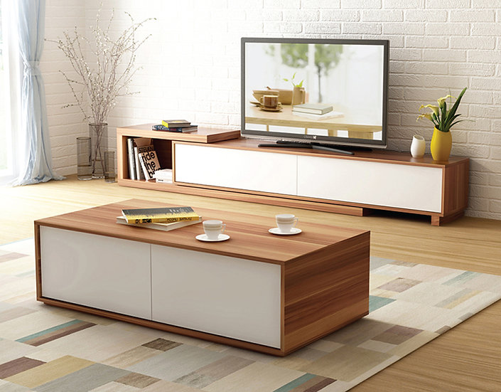 EVAN Extendable TV Stand
