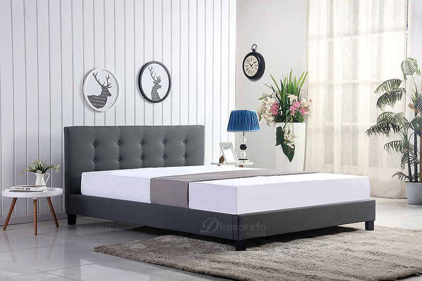 GLADYS Fabric Bed Frame