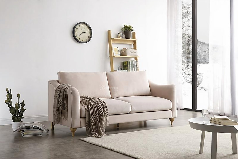 HARPER Velvet Two Seater Sofa