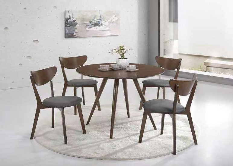 AVERY Dining Table with 4 Chairs