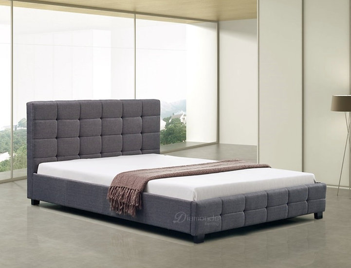 LINEN Luxe Fabric Bed Frame