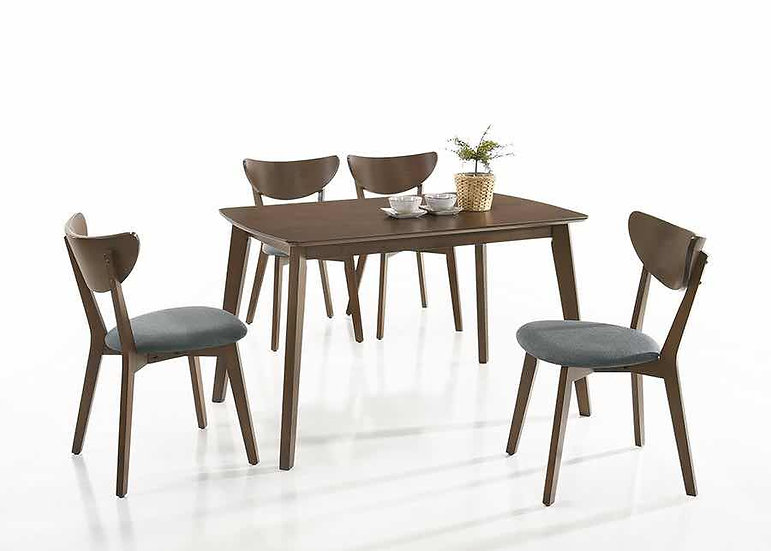 AIDEN Dining Table with 4 Chairs
