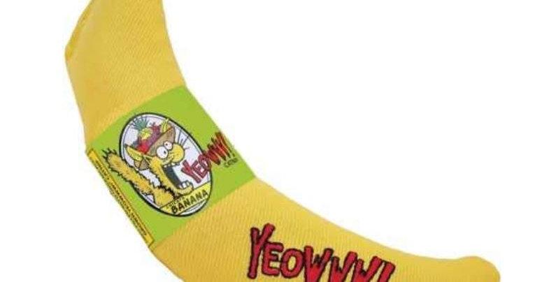 Yeowww Catnip Banana Cat Toy
