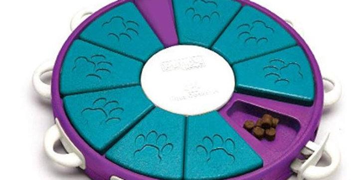 Nina Ottosson Dog Twister Advanced Dog Puzzle Toy – The Stimulating Treat Dispen